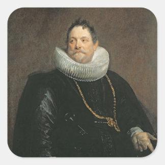 Jan van Monfort Square Sticker