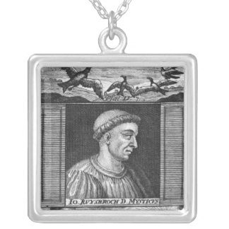 Jan van Ruysbroeck Silver Plated Necklace