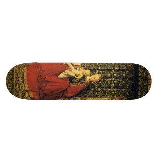 Jan Ven Eyck Art Skateboard