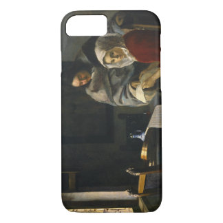 Jan Vermeer - Girl Interrupted at Her Music iPhone 7 Case