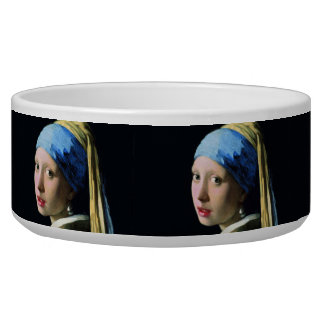 Jan Vermeer Girl With A Pearl Earring Baroque Art Bowl