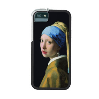 Jan Vermeer Girl With A Pearl Earring Baroque Art Case For iPhone SE/5/5s