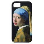 Jan Vermeer Girl With A Pearl Earring Baroque Art iPhone 5 Case