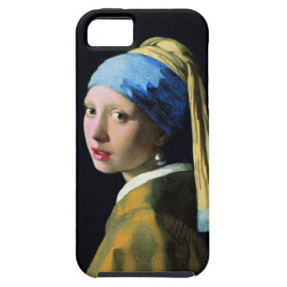 Jan Vermeer Girl With A Pearl Earring Baroque Art iPhone SE/5/5s Case