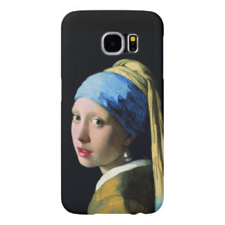 Jan Vermeer Girl With A Pearl Earring Samsung Galaxy S6 Cases