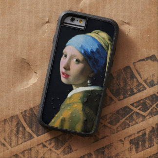 Jan Vermeer Girl With A Pearl Earring Vintage Tough Xtreme iPhone 6 Case