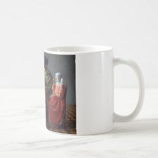 Jan Vermeer - The Glass of Wine Coffee Mug