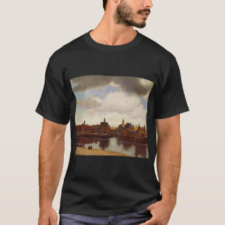 jan vermeer van delft 001  image vermeer view of d T-Shirt