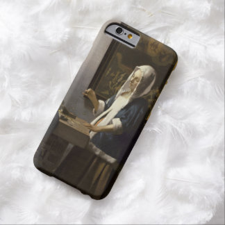 Jan Vermeer Woman Holding A Balance Vintage Art Barely There iPhone 6 Case