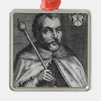 Jan Zamoyski Metal Ornament