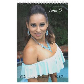 Jana G  2017 Glamour Calendar