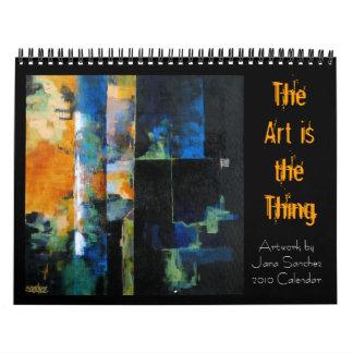 Jana Sanchez Art Calendar 2010
