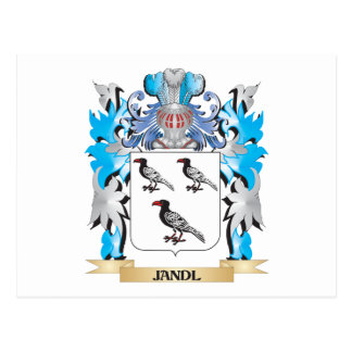 Jandl Coat of Arms - Family Crest Postcard