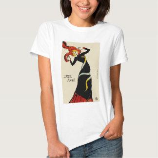 Jane April LAUTREC REDUX Edition T Shirt