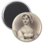 Jane Austen 2 Inch Round Magnet