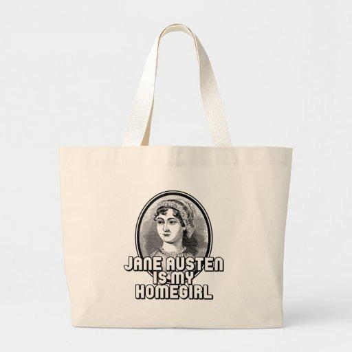Jane Austen Bolsa Tela Grande
