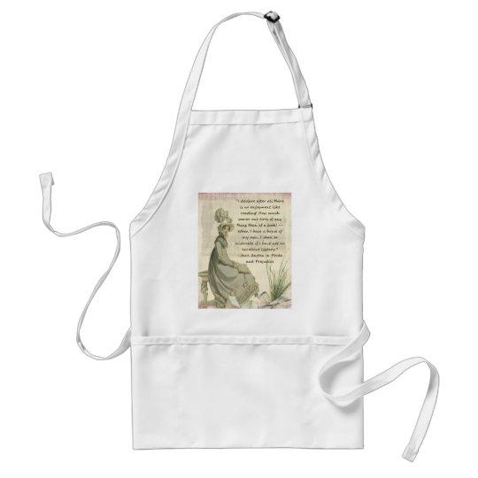 Jane Austen Book Lovers Adult Apron