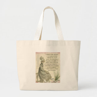 Jane Austen Book Lovers Canvas Bags