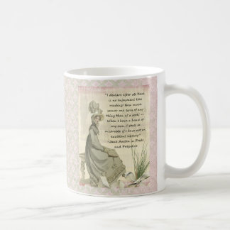 Jane Austen Book Lovers Coffee Mug