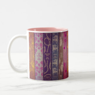 Jane Austen Books Mug