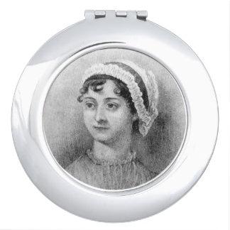 Jane Austen by Cassandra Austen Compact Mirror