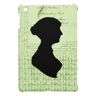 Jane Austen Call Me Lady Jane CrissCrossed Letter iPad Mini Cover
