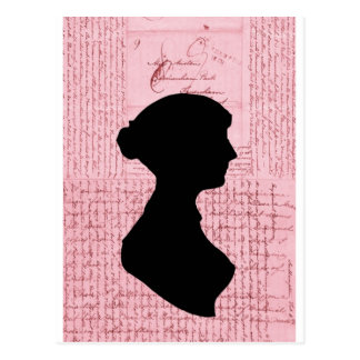 Jane Austen, Call Me Lady Jane Series Postcard