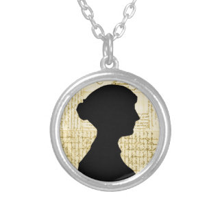 Jane Austen, Call Me Lady Jane Series Silver Plated Necklace