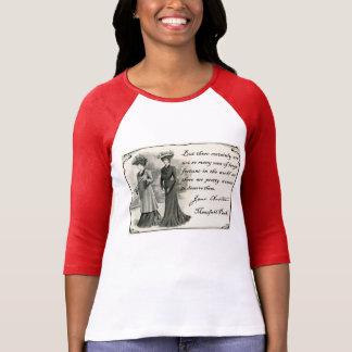 Jane Austen: Camiseta bonita de las mujeres Playeras