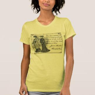 Jane Austen: Camiseta bonita de las mujeres Remera