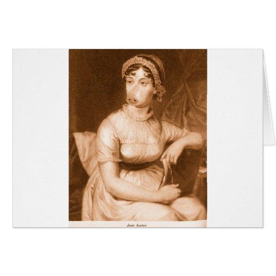 Jane Austen Card
