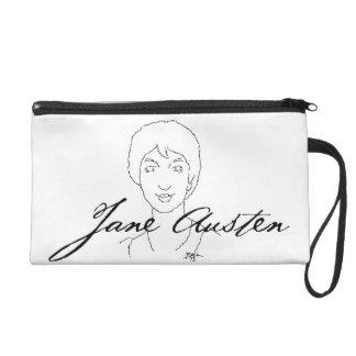 Jane Austen Clutch Wristlet
