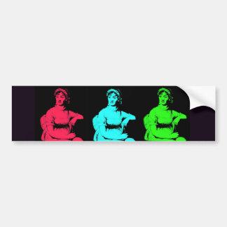 Jane Austen Collage Bumper Sticker