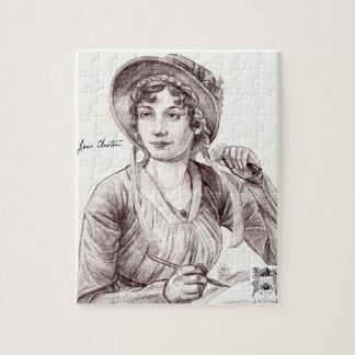 Jane Austen con una sonrisa 8x10 Rompecabeza Con Fotos