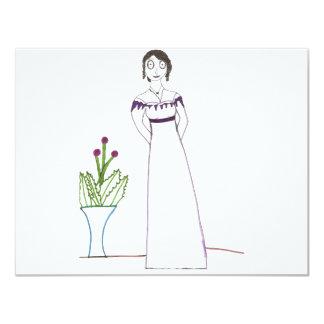 Jane Austen Creepy Plant Card