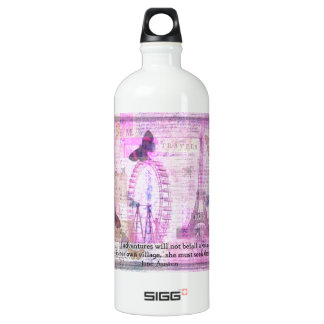 Jane Austen  cute Travel quotation SIGG Traveler 1.0L Water Bottle
