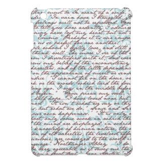 Jane Austen Damask iPad Mini Covers