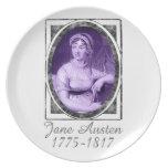 Jane Austen Dinner Plate