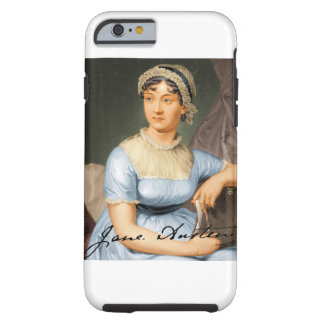 Jane Austen firmó el retrato Funda Para iPhone 6 Tough