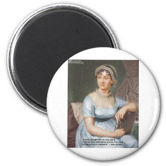 Jane Austen Friendship/Love/Balm Love Quote Gifts Refrigerator Magnets
