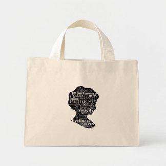 Jane Austen Girl Tote Bag