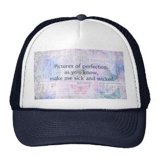 Jane Austen humorous, witty quote Hats