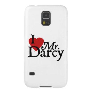 Jane Austen I LOVE Mr. Darcy Galaxy S5 Case