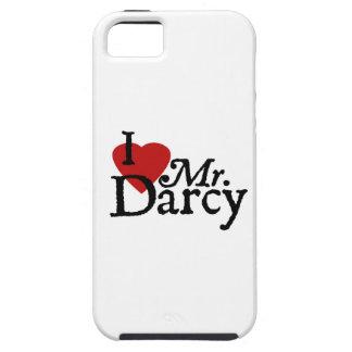 Jane Austen I LOVE Mr. Darcy iPhone 5 Covers