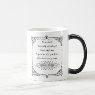 Jane Austen Inspiration Mug
