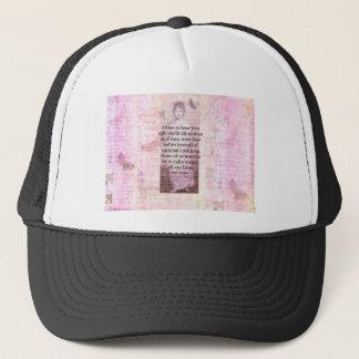 Jane Austen Inspirational quote empowerment women Trucker Hat