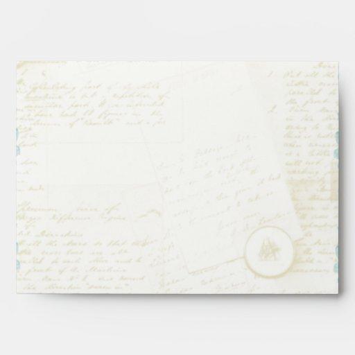 Jane Austen Inspired Elegant Envelopes