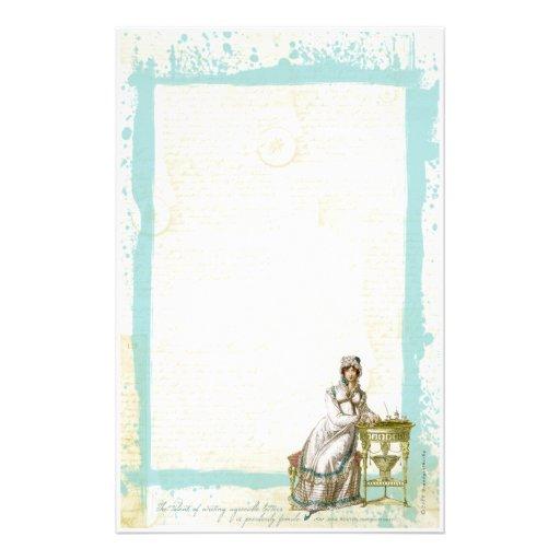Jane Austen Inspired Stationery II