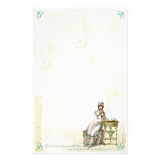 Jane Austen inspiró los efectos de escritorio I Papelería De Diseño