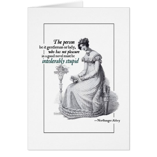 Jane Austen Intolerably Stupid Greeting Cards